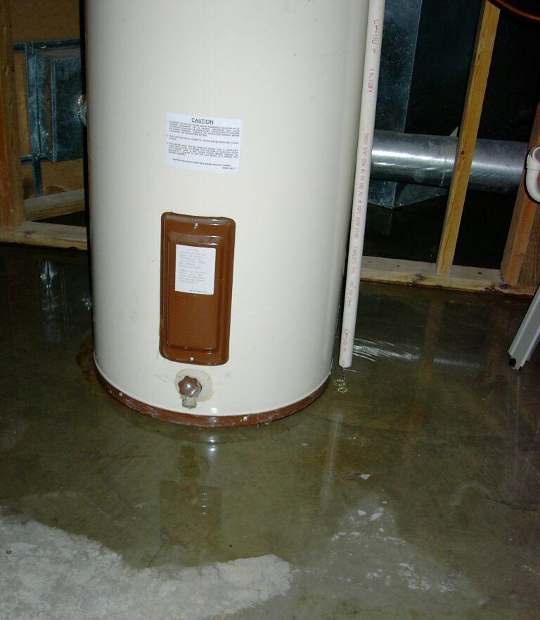 Water Heater Claim