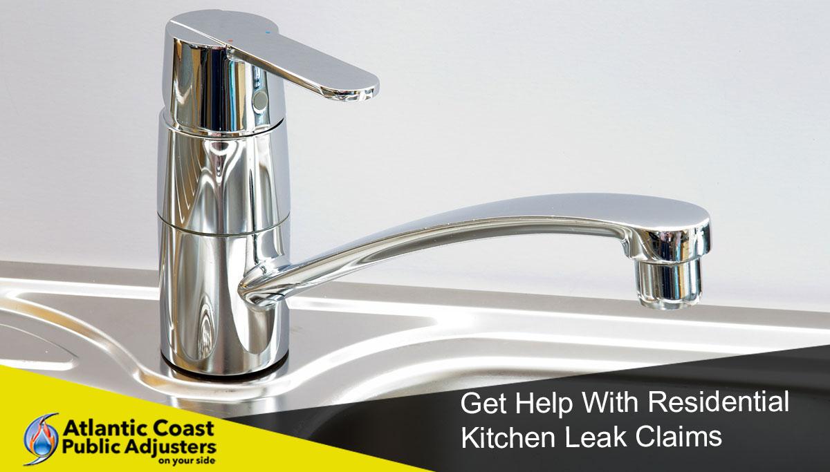 kitchen leak claims